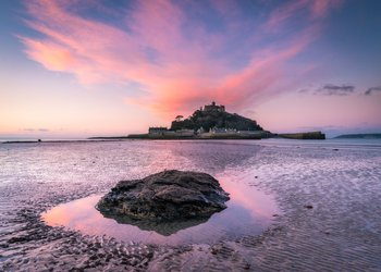 St. Michaels Mount: Klosterinsel vor Cornwall